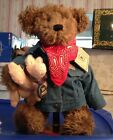 Boyds Bears Retired Exclusive Bear W/ Pig - Billy Ray Beanster & Petey Porker