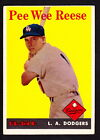 Pee Wee Reese Cards, Rookie Card and Autographed Memorabilia Guide 7