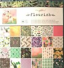 Maggie Holmes FLOURISH 12x 12 paper pad 48 sheets Beautiful Quick Ship