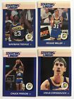 1988 Indiana Pacers SLU Cards Reggie Miller, Chuck Person, Wayman Tisdale, Stepo