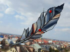 Stained Glass Suncatcher Baroque Feather Window Decoration Handmade