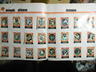 1972 Sunoco Football Stamp Complete Team Set LOT 24 BENGALS TRUMPY BERGEY+ EX