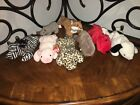 TY Beanie Babies Jolly Rover Ziggy Spike Squealer Freckles Sly