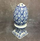 EGG SHAPED SALT AND PEPPER SHAKERS porcelain easter or year round