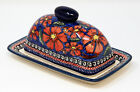Polish Pottery Butter Dish from Zaklady Boleslawiec 1377 150 Art