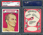 1967 TOPPS WHO AM I? #15 JULIUS CAESAR UNCOATED MINT PSA 9 (1924)