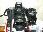 Canon EOS 50D 15.1 MP Digital SLR Camera -WITH THREE LENSES 18-55mm Lens)