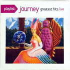 JOURNEY - GREATEST HITS / LIVE [Playlist] (CD 2014 Columbia USA) t No Case