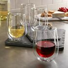 Henckels International 10 oz Double Wall Wine Glass 4 Pack FREE SHIPPING