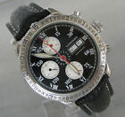 ★WoW ★Deal Longines Charles Lindbergh Chrono Stundenwinkel Luxus Uhr Chronograph