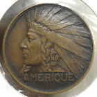 1931 International Colonial Exposition Souvenir Dies by Bazor Native American
