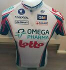 Vermarc LOTTO Omega Pharma Retro Vintage Team Cycling Jersey Made in Italy