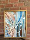 Abstract Painting Blue Art Original acrylic painting canvas Large Wall Decor