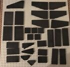 Lego Baseplate Mixed lot of 31 total BLACK LEGO Plates STAR WARS Pirate