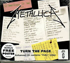 1 CENT CD Turn the Page Single poster included Metallica