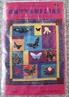 NIP Critters in a Hurry Machine Applique Butterflies Wall Hanging Quilt Pattern