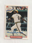 Autographed 1993 MLB players alumni card HOFer Willie Stargell (Pirates)