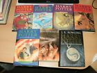 full set 7 harry potter 2 hard 5 paper jkrowling 2 first editions read gc