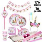 Unicorn Party Supplies Birthday Bundle For Girls Complete Set Decorations Kit