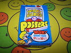 Vintage - Topps Wacky Packages Poster Box - 1973 - LOW Price - RARE EX