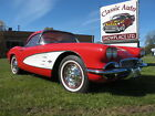 1961 Chevrolet Corvette Fuel Injection 1961 Corvette Fuel Injection NCRS Top Flight Red White