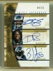 DONOVAN MCNABB 2005 SP AUTHENTIC SIGN OF THE TIMES AUTO 4 15 BRIAN DAWKINS BROWN