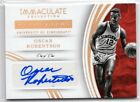 Oscar Robertson Cards and Autographed Memorabilia Guide 17