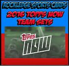 2016 Topps Now Chicago Cubs World Series Champions Team Set 10