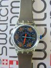 Swatch Metal Flash SSK104 1993  Standard Gents 34mm Stop