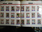 1972 Sunoco Football Stamp Complete Team Set LOT 24 PATRIOTS RC PLUNKETT + EX