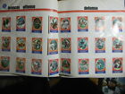 1972 Sunoco Football Stamp Complete Team Set LOT 24 Denver Broncos Alzado RC+ EX
