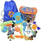 Dog Toys Set of 13 Dog Chew Toys for Puppy and Small Dogs BK