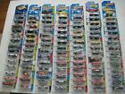 Lot 3 of 100 New Hot Wheels on Cards Back to the Future Delorean Muscle Cars