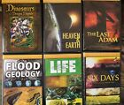 Creation Museum Series Set Of 6 Dragons Heaven Flood Geology Life Six Days Adam