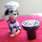 GIFTCO HOT DOG CHEF BBQ GRILL STEAKS SALT  PEPPER SHAKERS