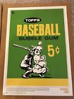 2018 Topps 80th Anniversary Wrapper 1964 Baseball Poster #'d to 1 Gold version!