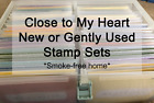 You Pick Close to My Heart CTMH My Acrylix stamp sets