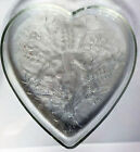 Glass Heart Shaped Dish