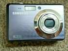 SAMSUNG ES55 PURPLE 10.2 MP DIGITAL CAMERA BROKEN - SPARES REPAIRS PARTS