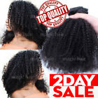 African Afro Kinky Curly Hair Clip In 100% Virgin Human Hair Extensions US P303