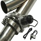 25 63mm Mannal Electric Exhaust Catback Downpipe Cutout E Cut Out Valve System