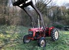 NUFFIELD 4 25 2WD Compact Tractor with Loader and Muck Fork Diesel Leyland