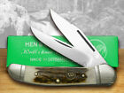 HEN  ROOSTER AND Genuine Stag Copperhead Pocket Knives 232DS Knife