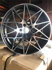 BMW 19 M SPORT STYLE Wheels FOR 345 Series XDrive Black Machined Face
