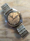 Vintage Pulsar Mens Stainless Steel Day Date Quartz watch keeps good time