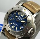 Panerai Submersible 44mm PAM 087 1000M Blue Dial