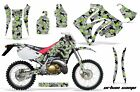 Dirt Bike Graphic Kit Decal Sticker Wrap For Honda CRM250AR 1996-1999 URBAN GRN