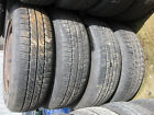 Fiat Punto set of wheels tyres 165 70 R14 85T 4 Studs good condition