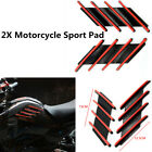 1Pair Motorcycle Tank Pad Protector Side Cover Sticker Scratchproof Left+Right