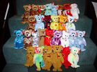TY BEANIE BABY BEARS part 1 - A to G